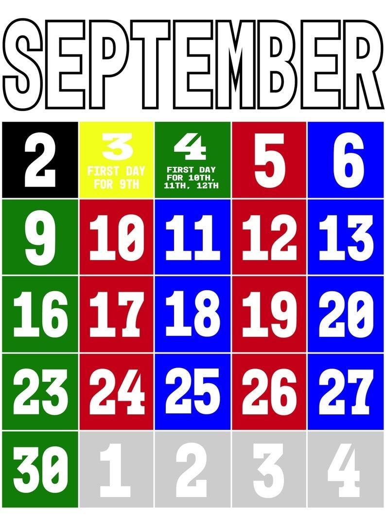 Salem-Keizer 2019/2020 A/b Schedule School Calendar_School Calendar Salem Keizer
