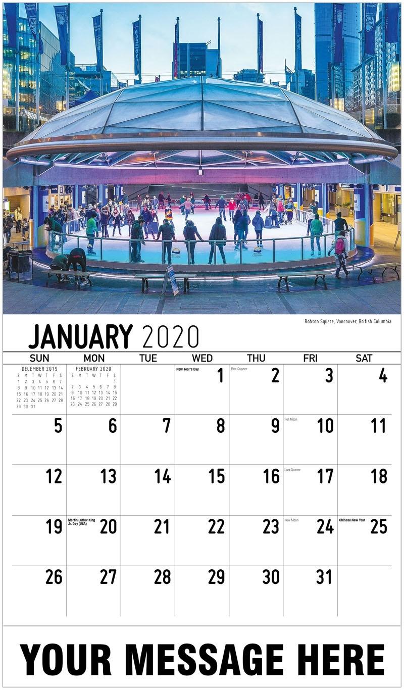 Scenes Of Western Canada_Photo Calendar Printing Vancouver