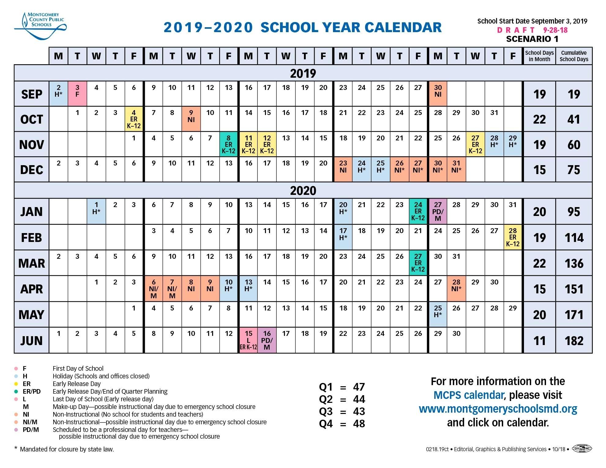 School Board Approves Longer Spring Break For 2019-2020 Calendar_Calendar School Usa 2020