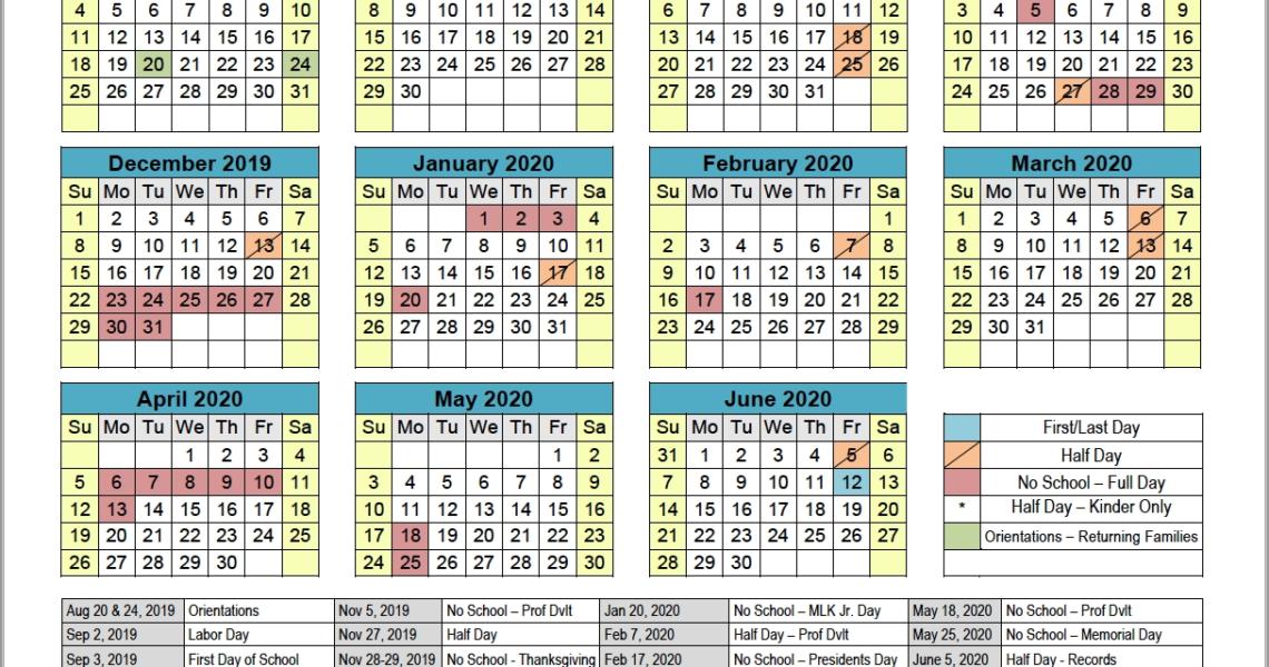 School Calendar | Boggs Educational Center_U Michigan School Calendar