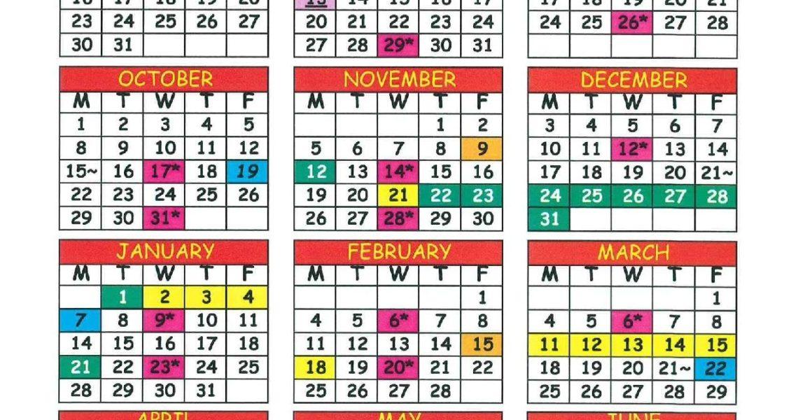 School Calendar – La Core Christian Academy_School Calendar Jacksonville Fl