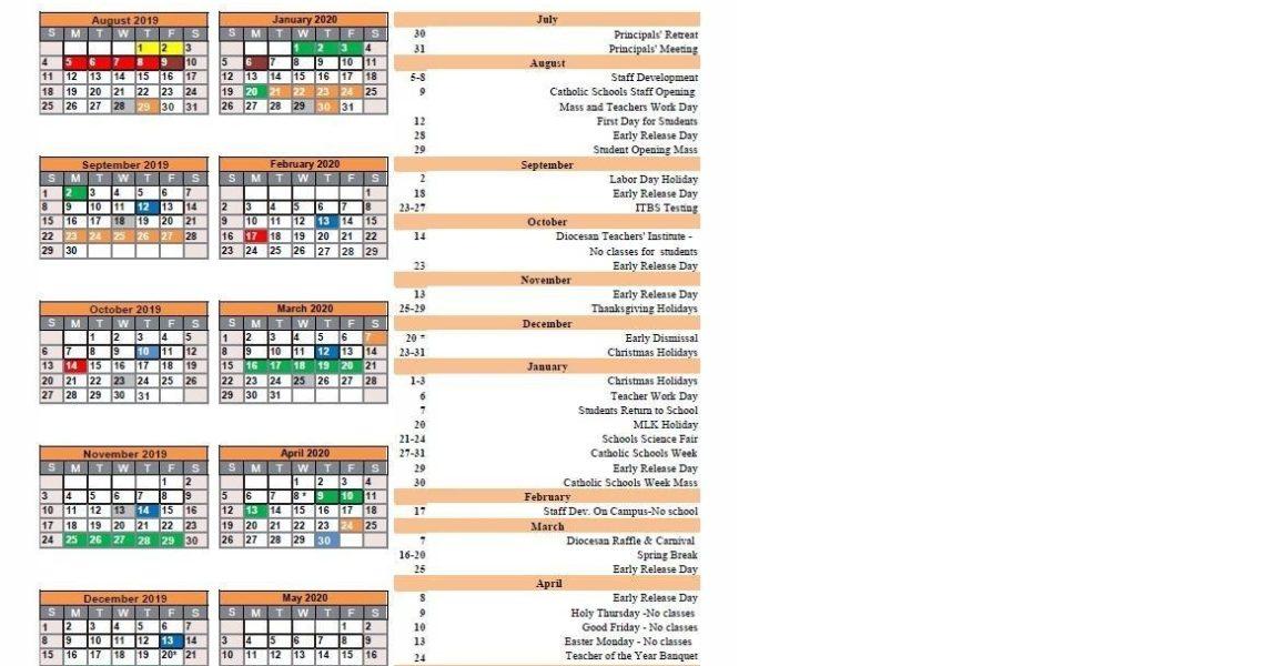 School Calendar – Parent Resources – St Pius X Catholic School_Pius X School Calendar