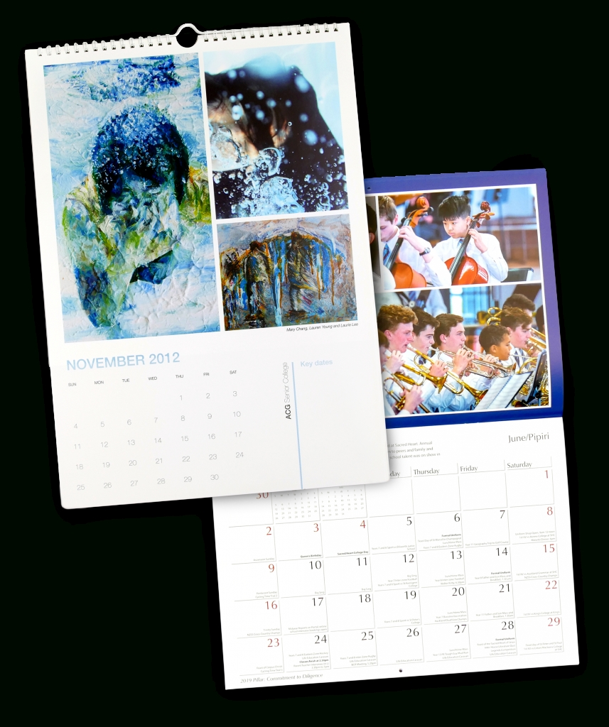 School Calendars: Keeping Up-To-Date Has Never Looked So Good - Yolo_Custom Calendar Printing Nz