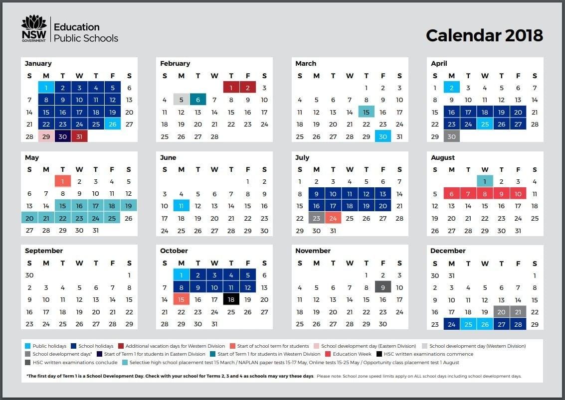 School Holidays – Kidabout_Calendar School Nsw 2020
