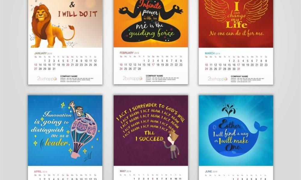 Self Motivation_Calendar Printing In Delhi