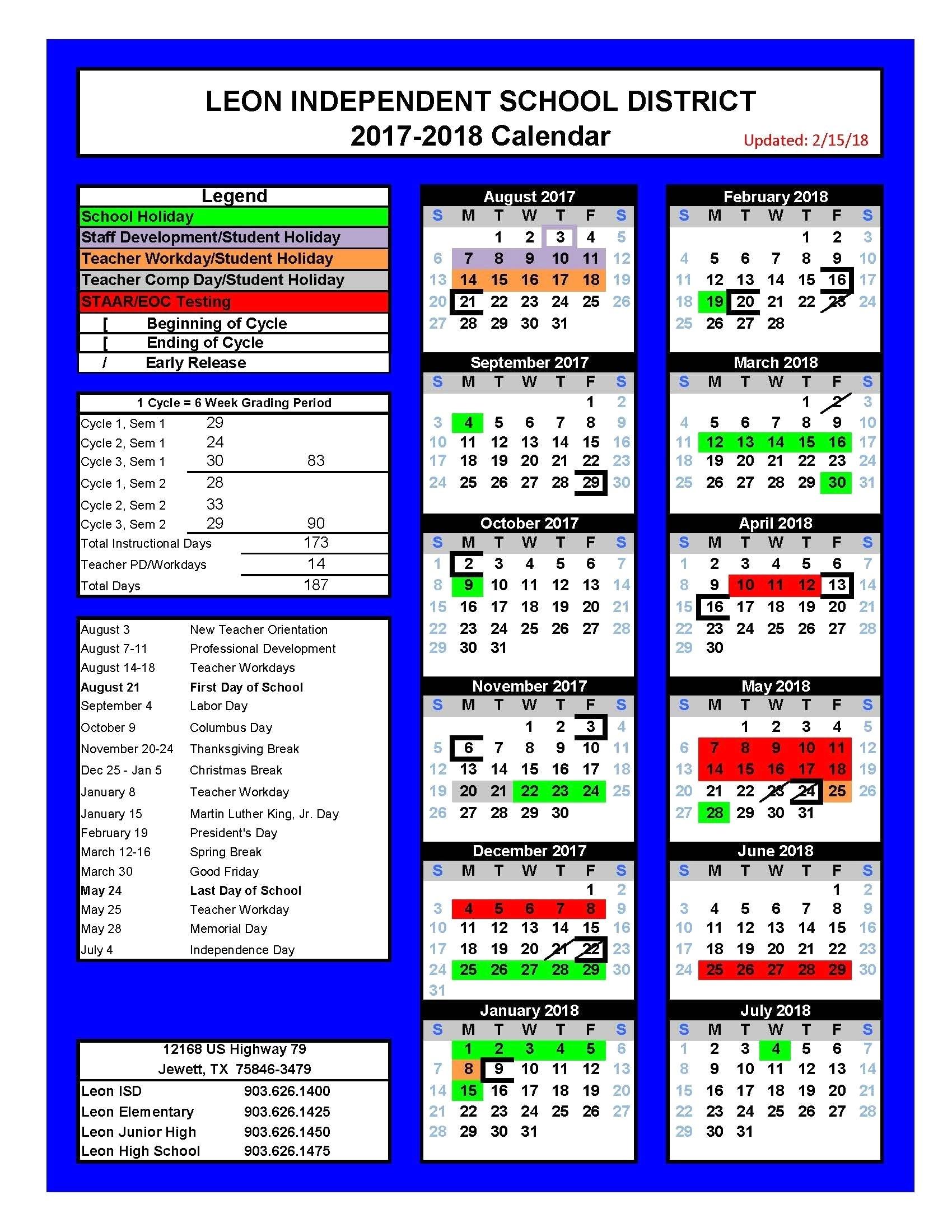 Seminole County School Calendar 1 Leon | Jcreview_School Calendar Leon County