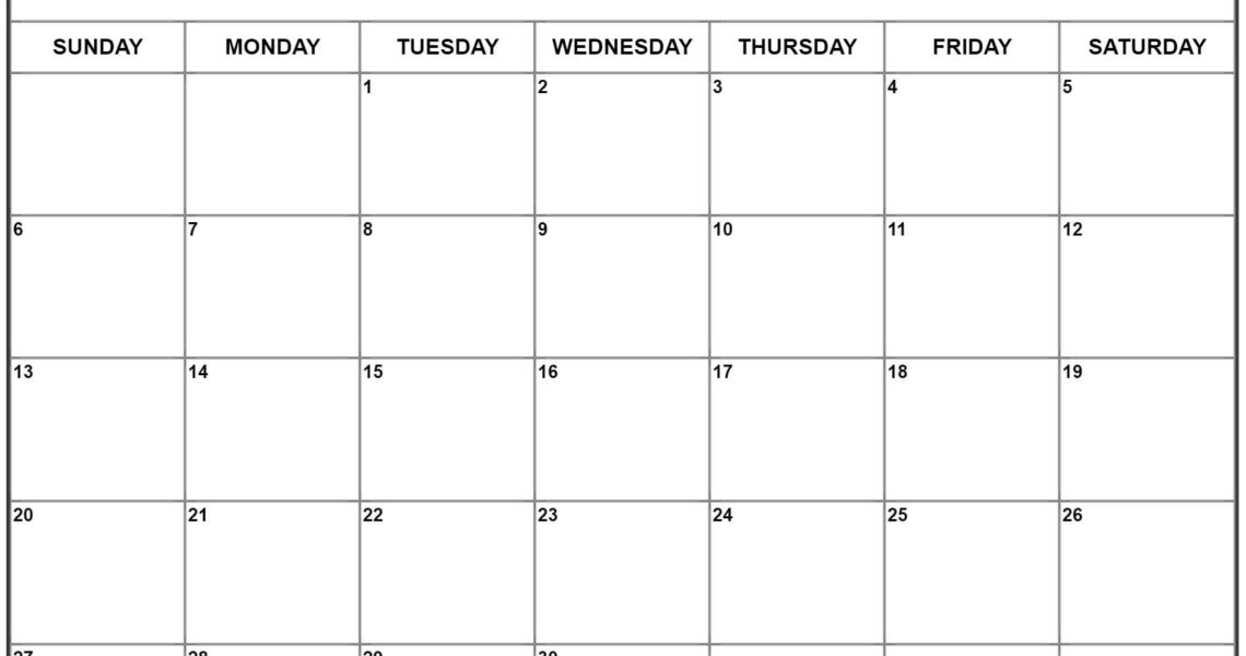 September 2020 Calendar | Free Printable Monthly Calendars_Calendar Blank Template September 2020