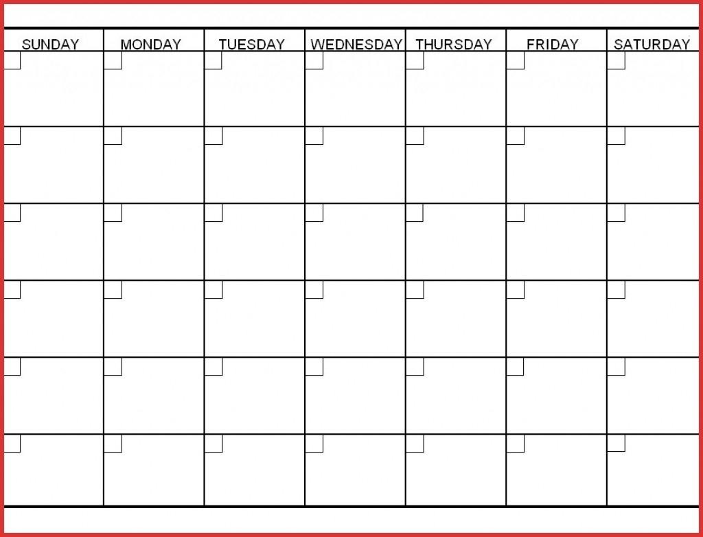 Six Week Calendar – Nadi.palmex.co-6 Week Blank Calendar Printable_Blank Calendar Template 6 Weeks