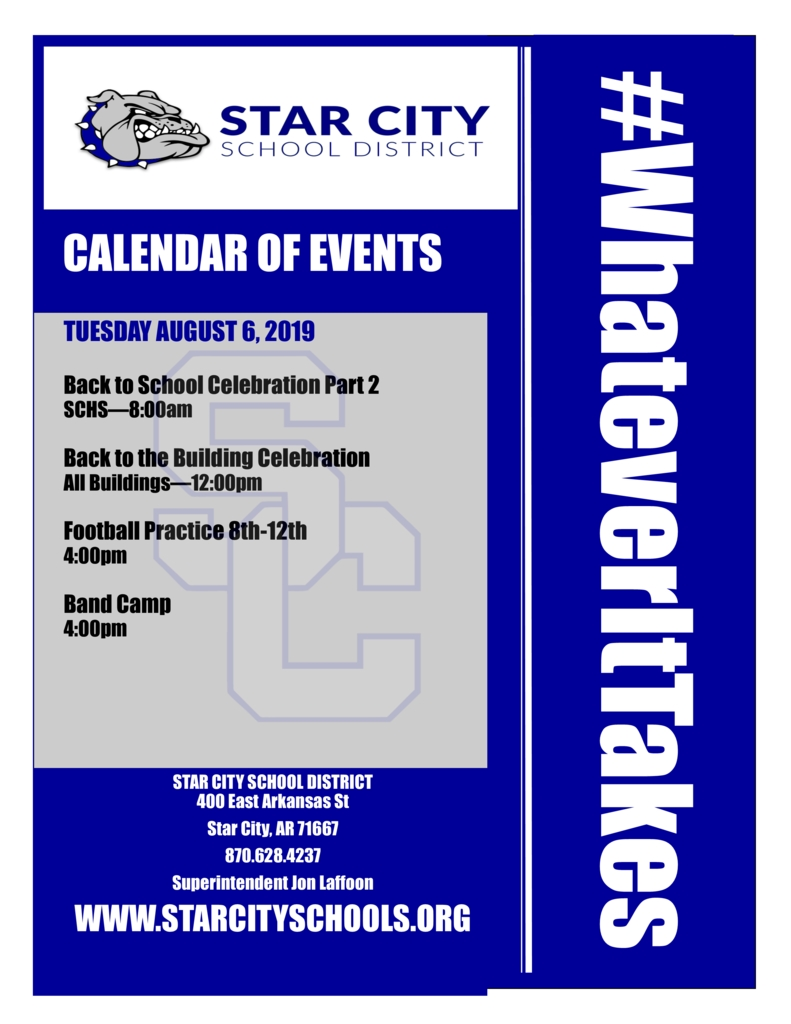 Star City Schools_W Ross Macdonald School Calendar