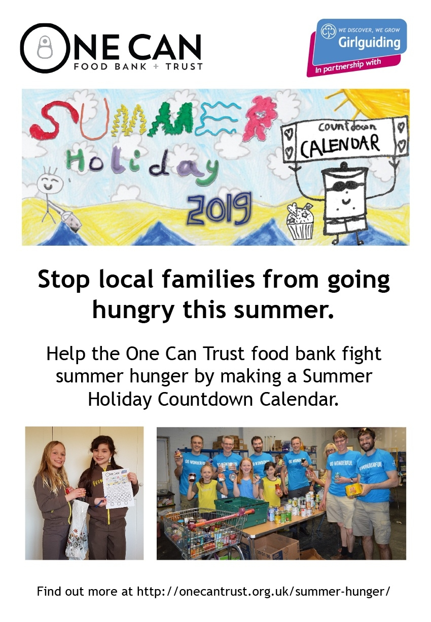 Summer Hunger: Holiday Countdown Calendar 2019 - One Can Trust_Countdown Calendar Summer Holiday