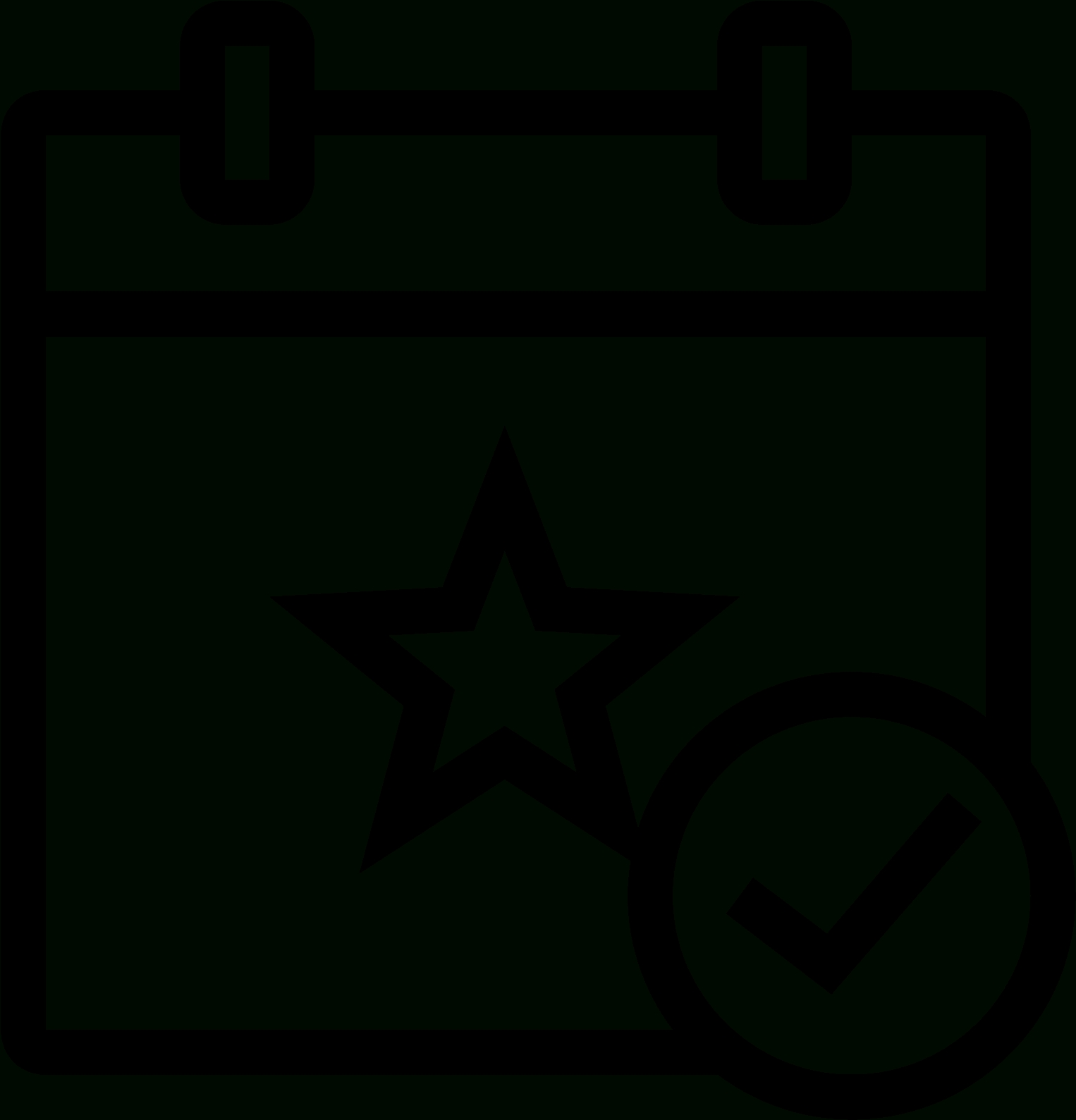 This Icon Is A Small Rectangular Calendar - Events Icon Clipart_Calendar Icon Small Size