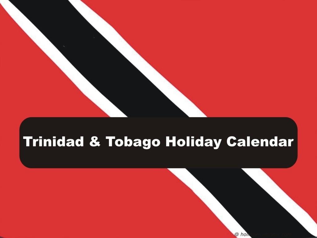 Trinidad And Tobago 2019 / 2020 Holiday Calendar_School Calendar Trinidad 2020