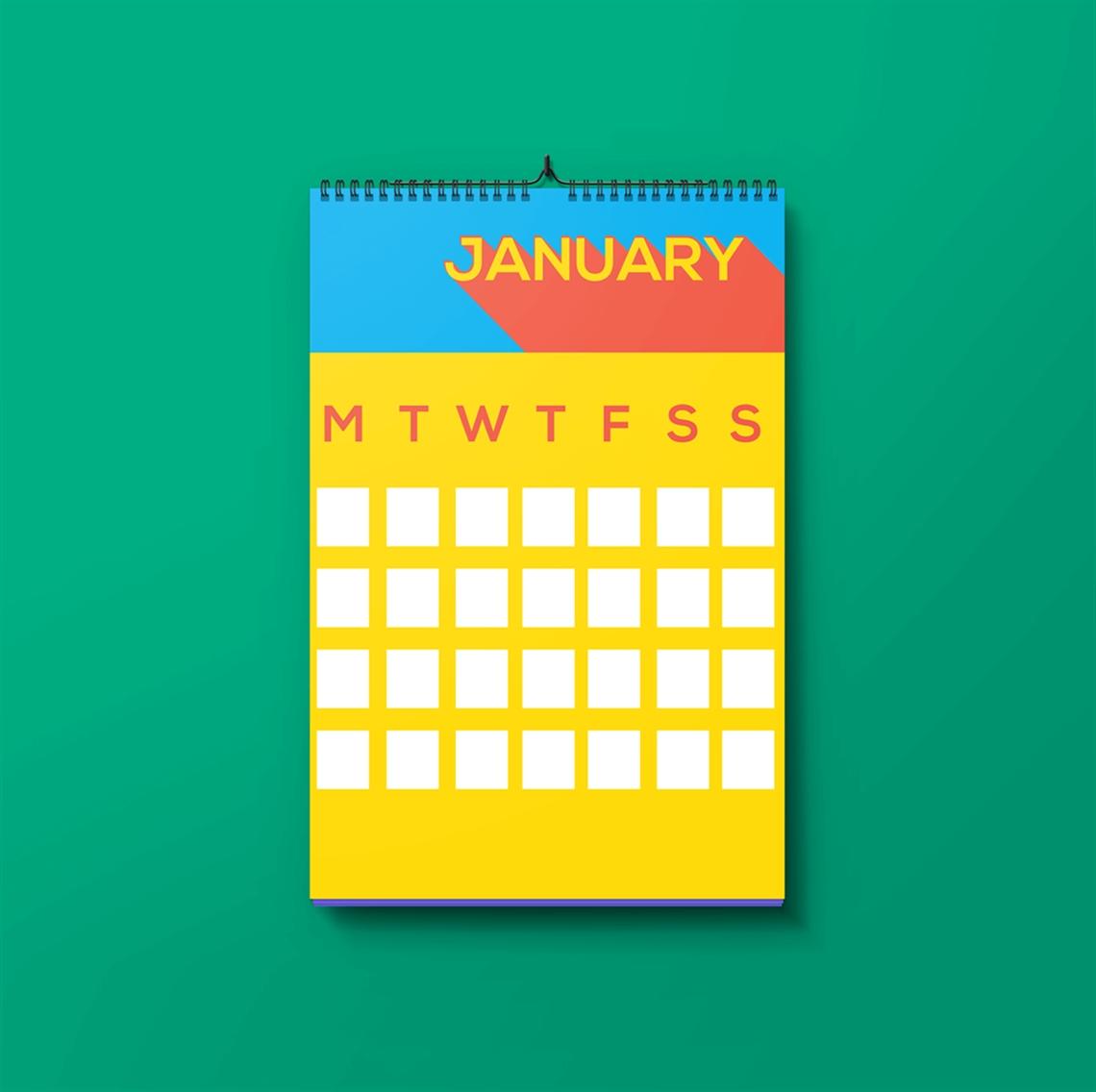 Upload Your Own Calendarcustom Wall Calendar Printing | A4 Or A5_A4 Wall Calendar Printing