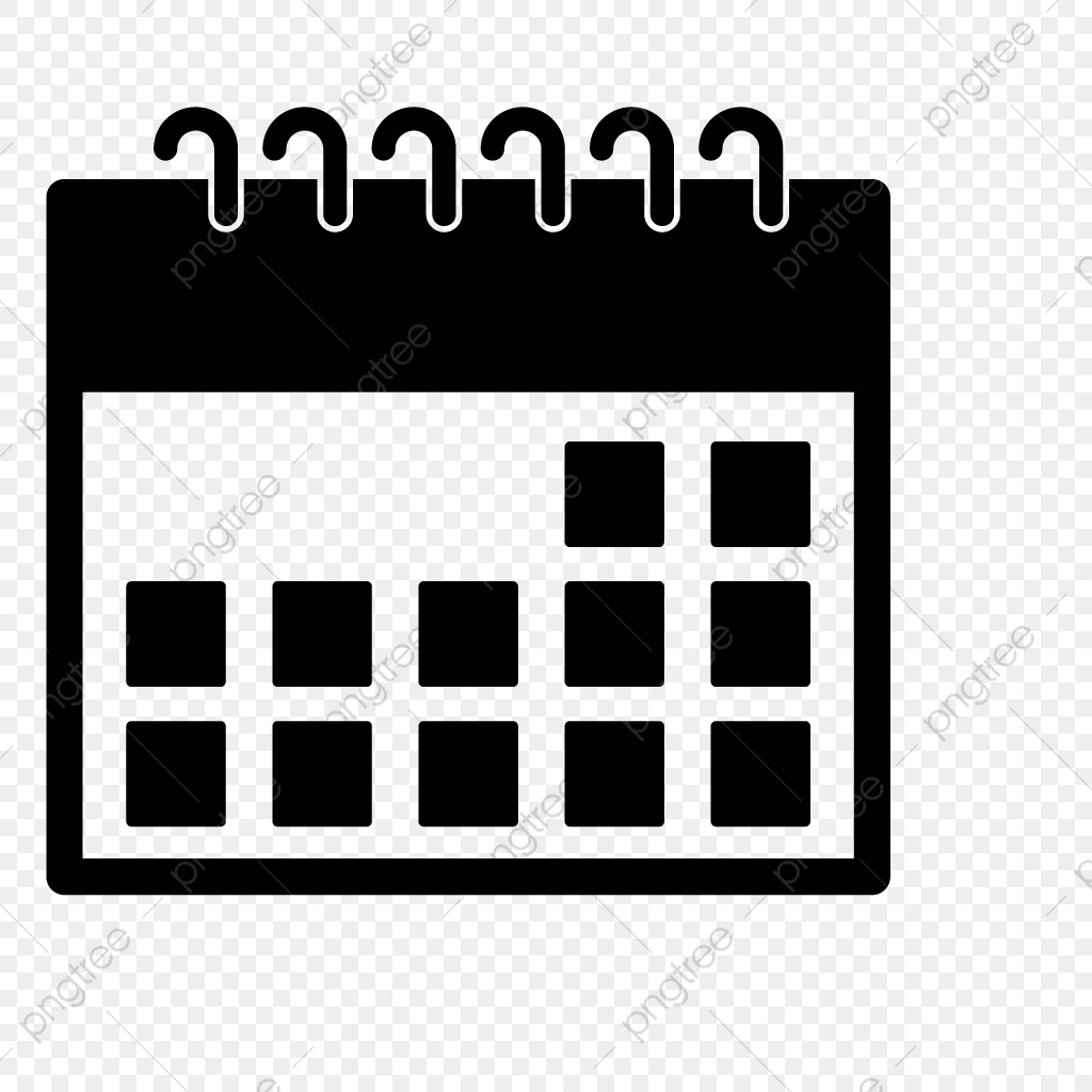 Vector Calendar Icon, Calendar, Month, Date Png And Vector With_Calendar Icon Png Transparent