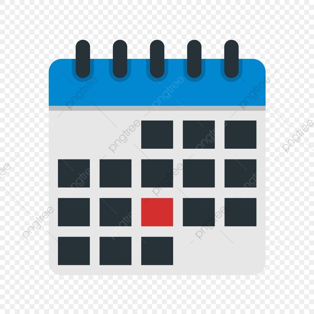 Vector Calendar Icon, Calendar, Month, Schedule Png And Vector With_Calendar Icon Vector Cdr