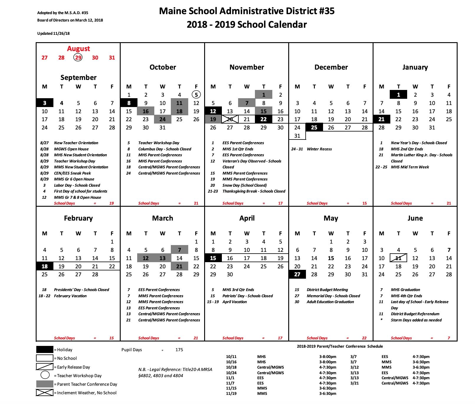 Vstewart – Page 2_Rsu 2 School Calendar