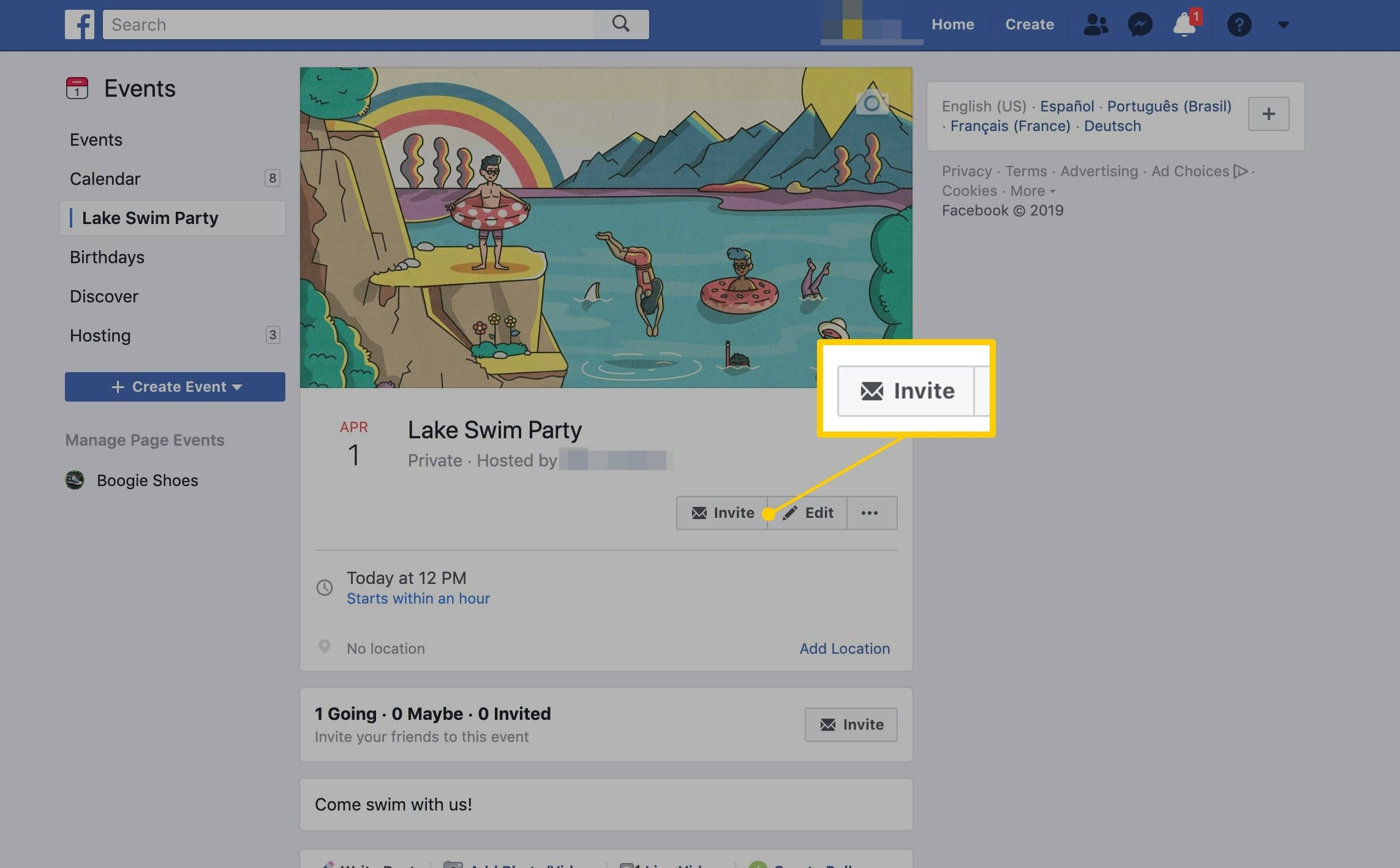 What Are Facebook Events?_Facebook Creation With A Calendar Icon