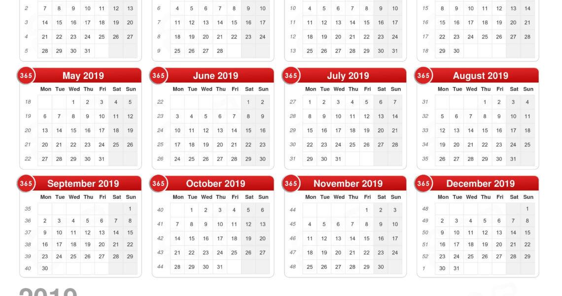 Calendar 2019_2019 Calendar Printing Johannesburg