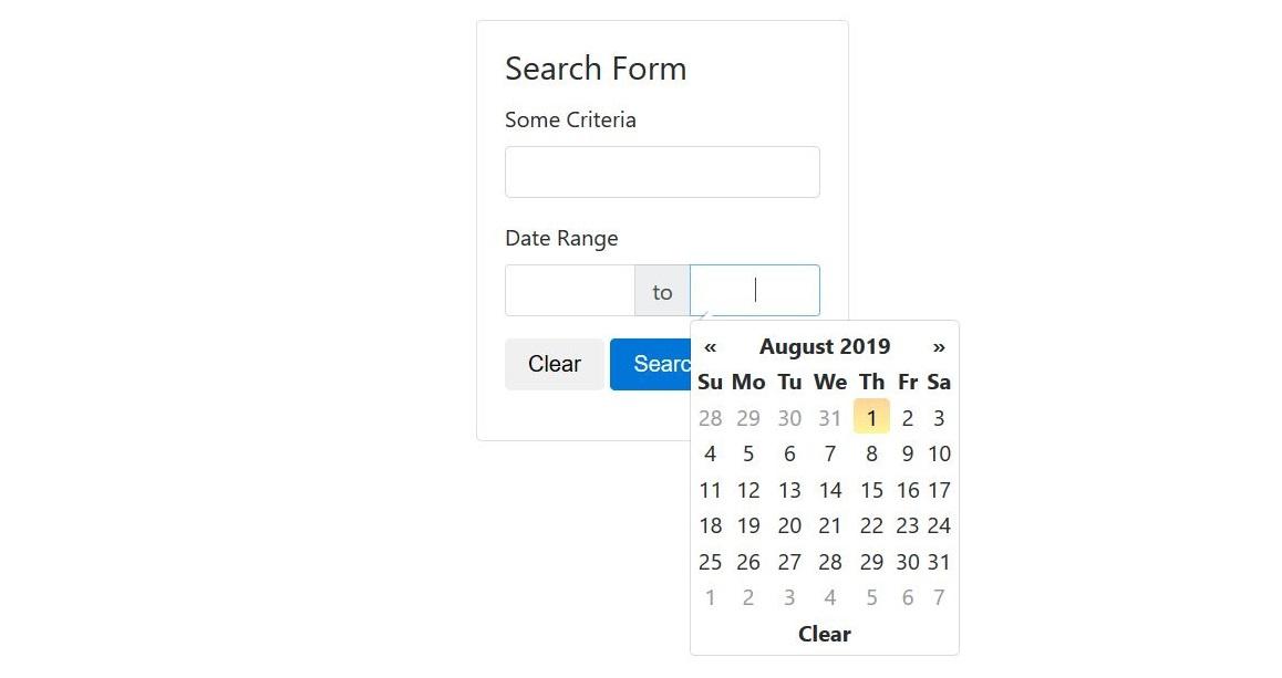 ロイヤリティフリーDate Range Ux - 最高のマインクラフト_Bootstrap 4 Datepicker Calendar Icon