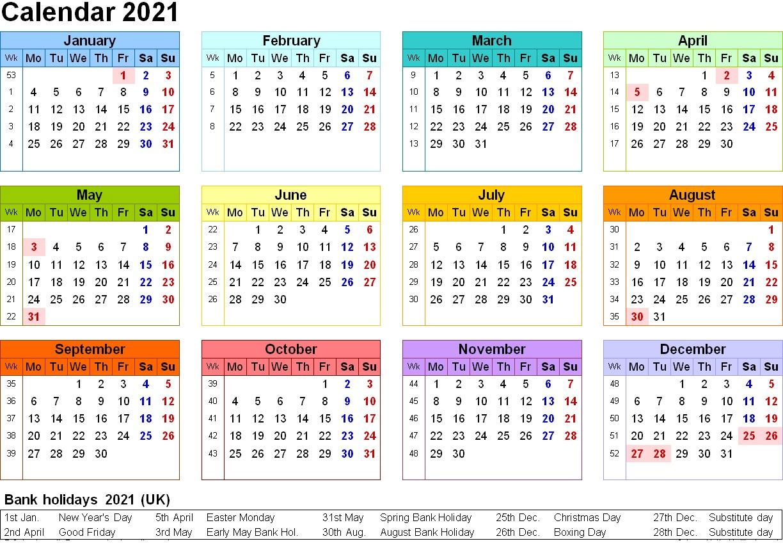 2021 Calendar Printable | 2020Calendartemplates_Bulk Calendar Printing Us